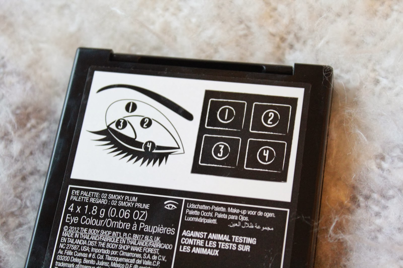 The Body Shop Smokey Plum Eye Palette Inthefrow