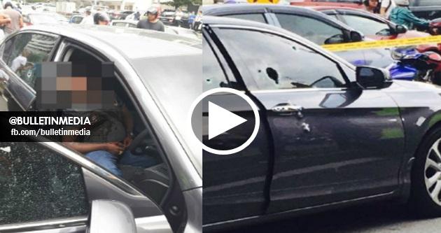 VIDEO & FOTO Ngeri Kes Tembak Ala Cowboy Baru Berlaku Sebentar Tadi Di Setapak, Kuala Lumpur !