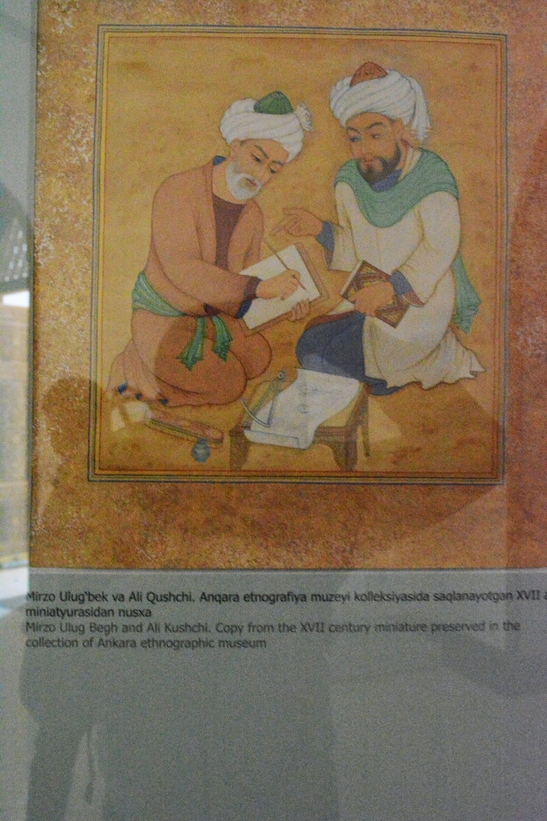 Ali Kuşçu ile Uluğ Bey