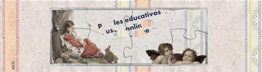 PUZZLES educativos GRATIS