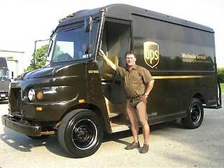 the-o-dot: UPS Delivery Guys Update Uniform With Brown
