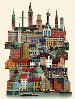 Copenhague: la zona medieval