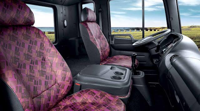 Nội thất xe tải HD250 Hyundai 14 tấn