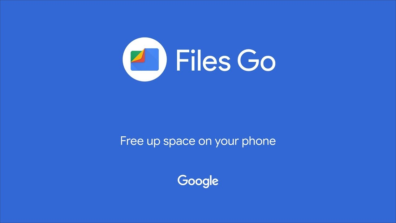 Files Go a smart storage manager from Google for Android phones