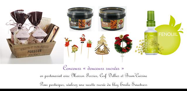 """Participations au concours """"douceurs sucrées"""""""