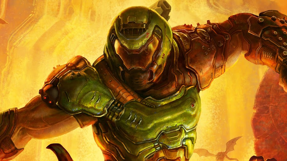 Doom Eternal Doomguy 8k Wallpaper 26