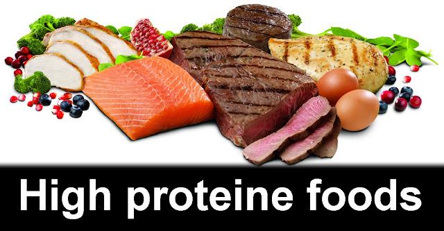 high proteine foods