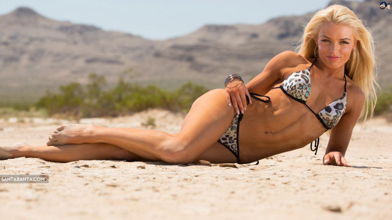Mandy Rose Hot Bikini Wallpaper