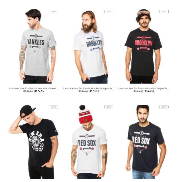 7db5c3fdef Camisetas de várias marcas na kanui CLIQUE AQUI
