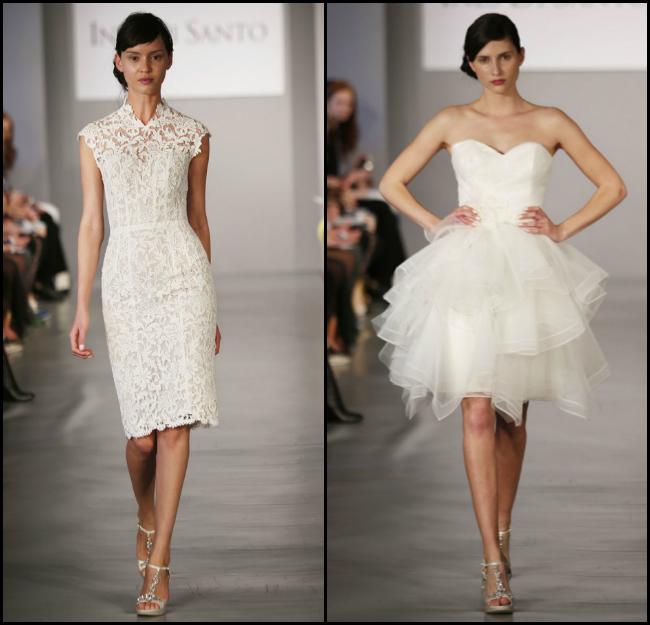 Edgy Short Wedding Dresses