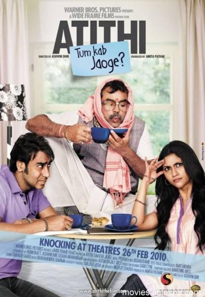 Poster of Atithi Tum Kab Jaoge 2010 720p Hindi DVDRip Full Movie Download