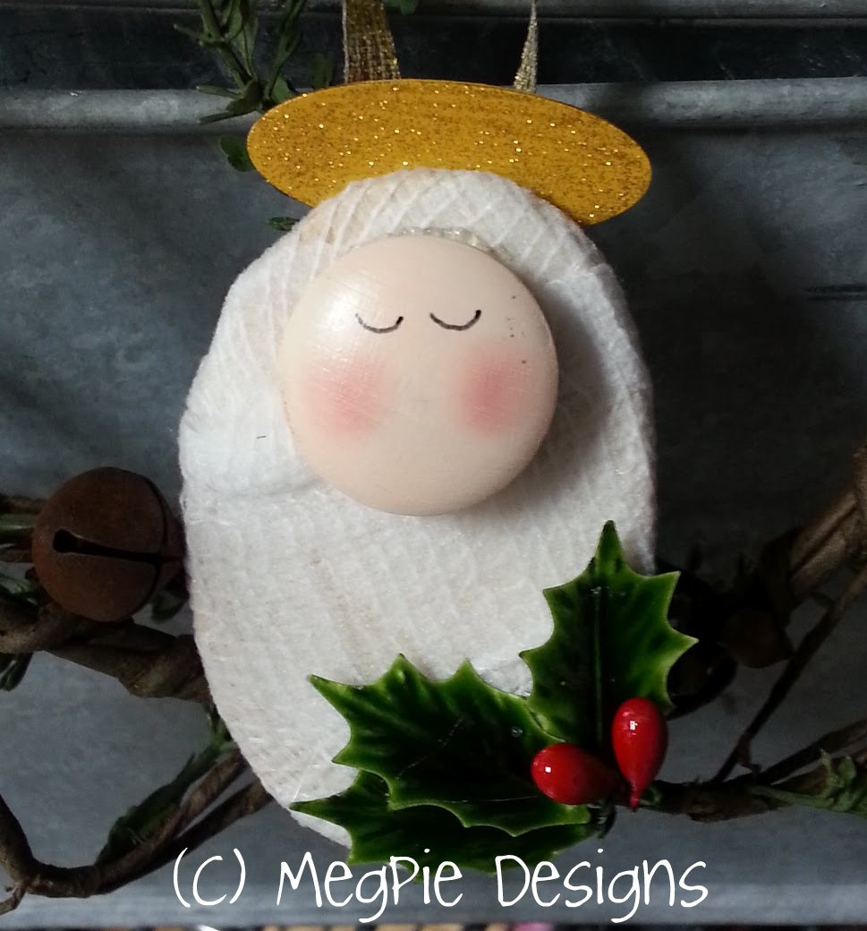 Jesus Ornaments Jesus Ornament Designs: Megpie Designs: Baby Jesus Ornament