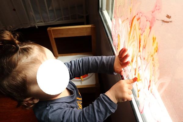 peindre sur les vitres