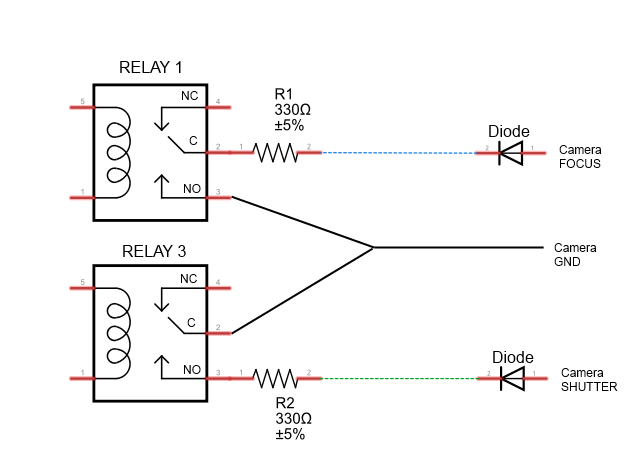 4 pin relay with diode