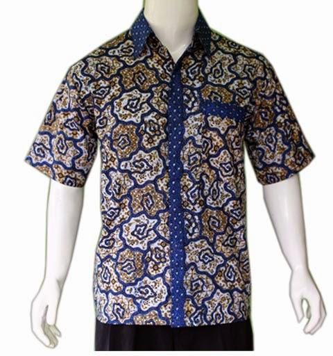 Gambar Model Batik Pria Terbaru: Model Baju Batik Pria Terbaru
