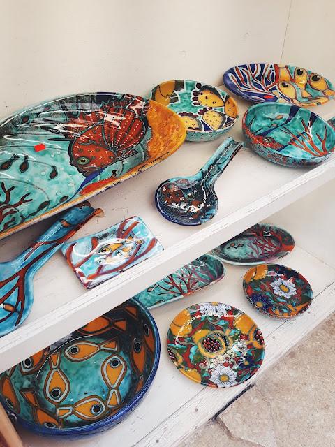 ceramika w Erice, Erice