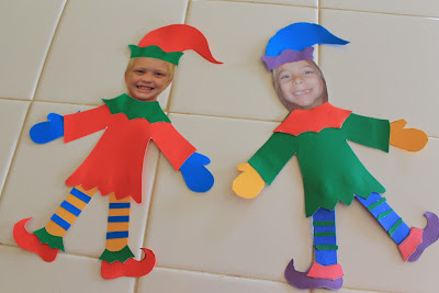 Elf Yourself Craft; Elf Crafts for Kids to Make