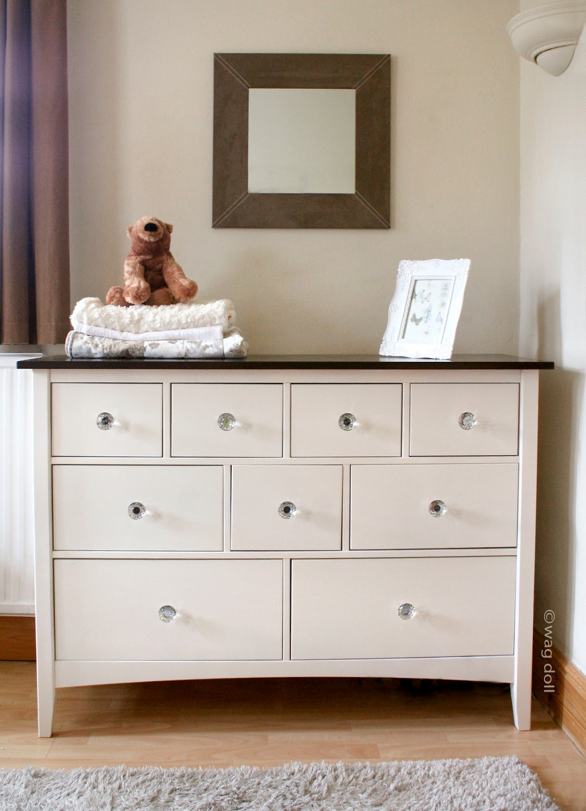 Tool Chest Dresser Makeover: Nursery Chest Of Drawers Makeover