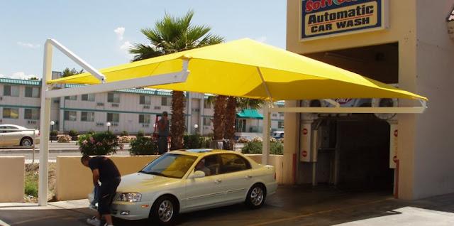 عمل وتركيب مظلة سيارة