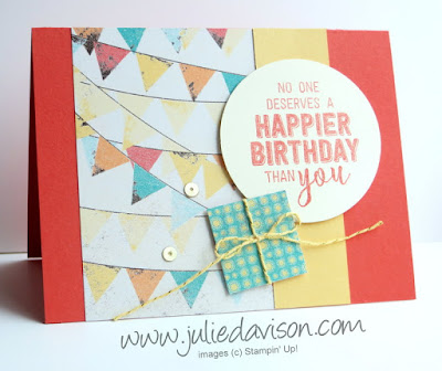 Stampin' Up! 3 Cupcakes & Carousels Goody Bag Projects ~ 2017 Occasions Catalog ~ www.juliedavison.com