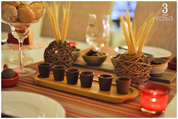 mesa posta chocolate