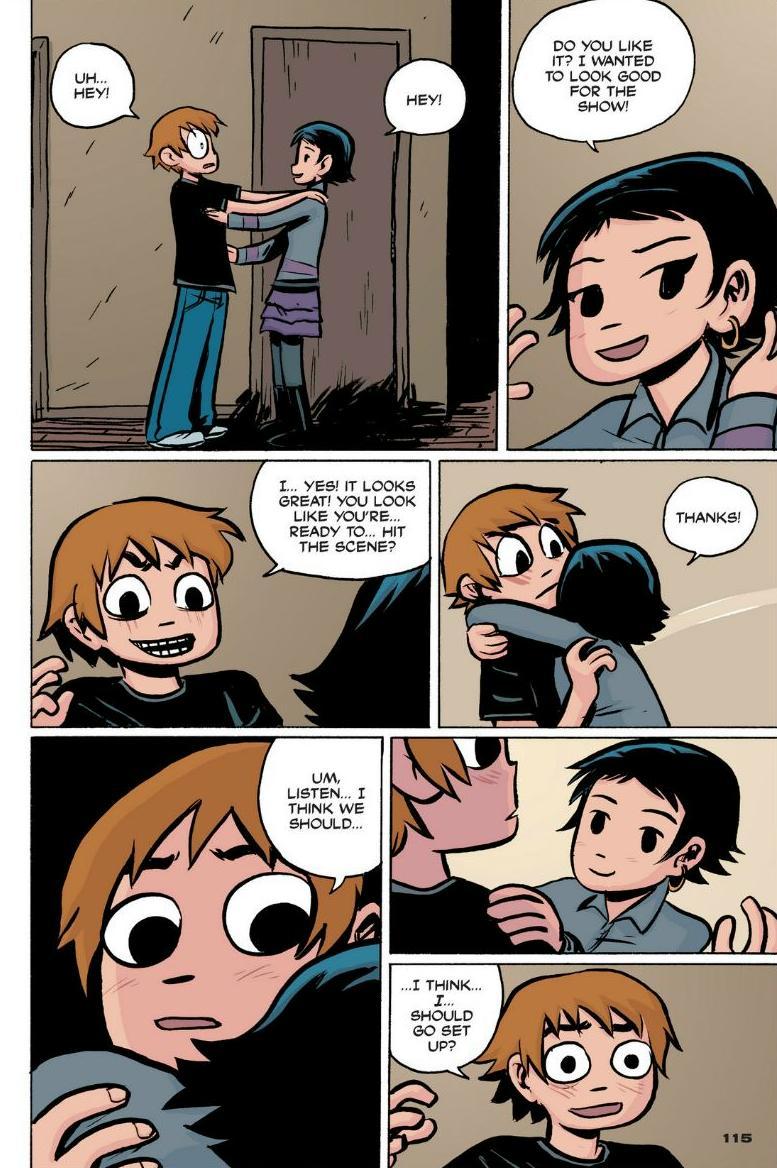 Read online Scott Pilgrim comic -  Issue #1 - 105