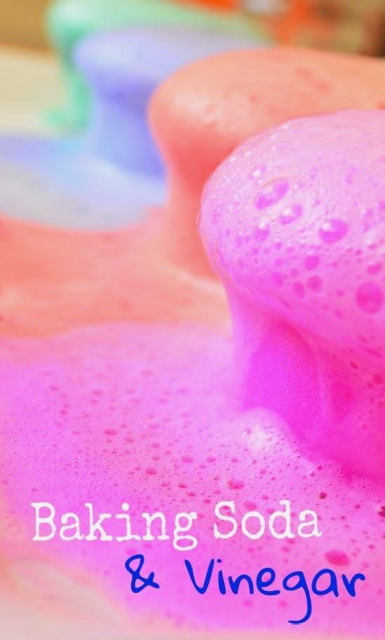 The Practical Mom: Baking Soda & Vinegar Concoction - Science Experiment for Preschoolers!