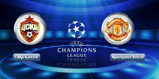 Susunan Pemain CSKA Moskow vs Manchester United