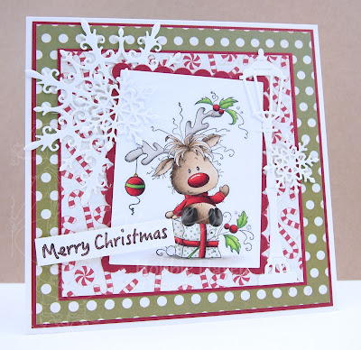 Heather's Hobbie Haven - Rudolph Card Kit