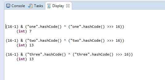 Understanding Internal Working of java util HashMap ~ Java