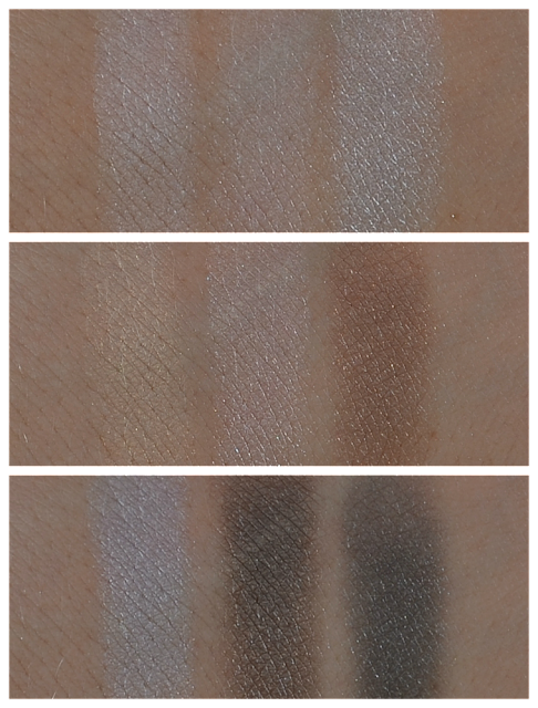 Rival de Loop Mirja du Mont LE eyeshadow Swatches