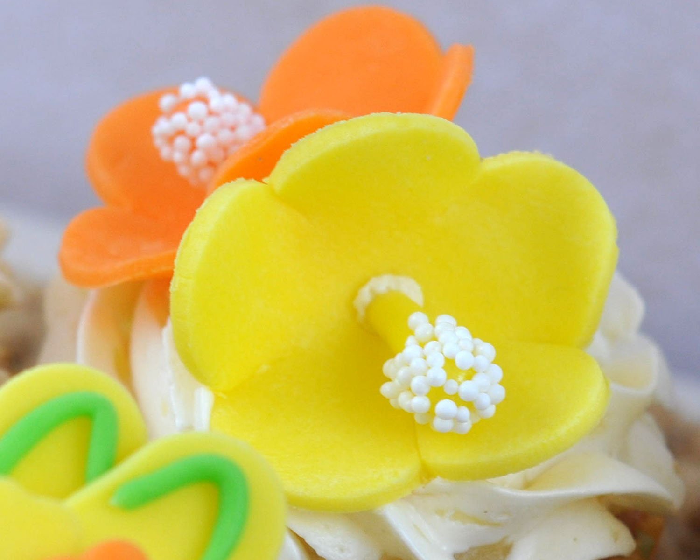 Hibiscus Flower Cake Decoration