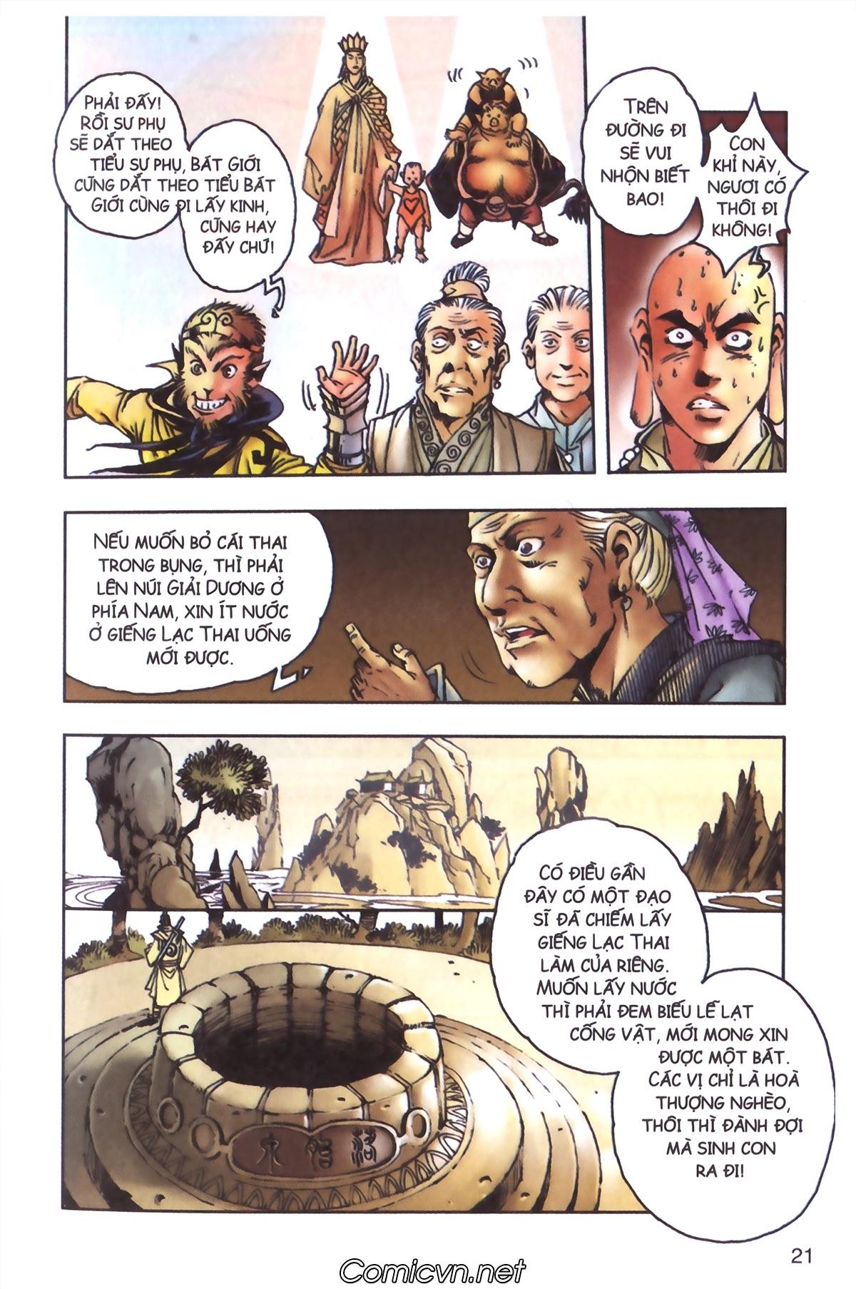 Tây Du Ký màu - Chapter 96 - Pic 19