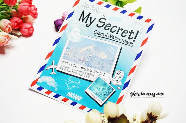 B & Soap My Secret Glacial Water Mask