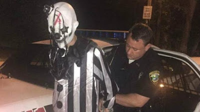 , Lurking clown arrested in Kentucky woods near apartments, Latest Nigeria News, Daily Devotionals & Celebrity Gossips - Chidispalace