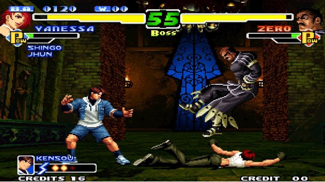 Download The King of Fighters 2000 PC Gameplay