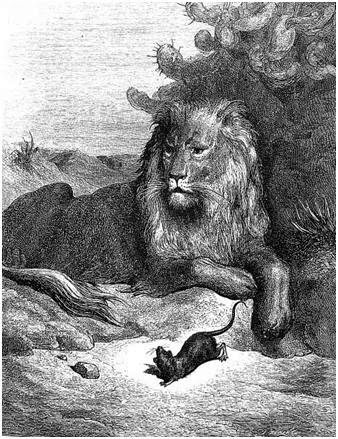 Fablimages : La Fontaine et ses illustrateurs: Le lion et