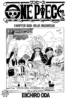 Cover One Piece 808