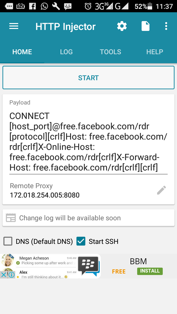 How To Configure Http Injector For Free Internet Access Tech Foe
