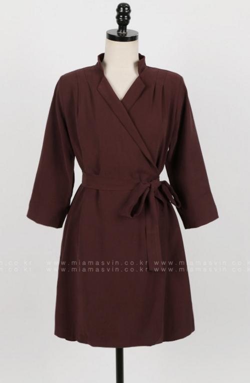 Lapel Wrap Dress