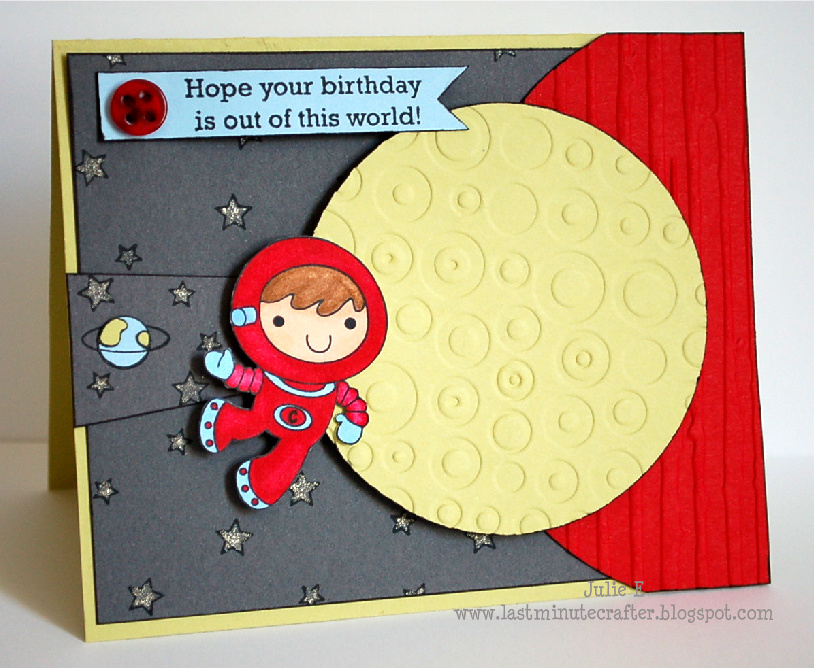 He Is Perfect For A Birthday Card And This One Will Be Heading To 4 Year Old I Combined Quite Few Great Challenges