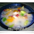 How to make fruit soup (sop buah), Healthy food and dirk from Indonesia