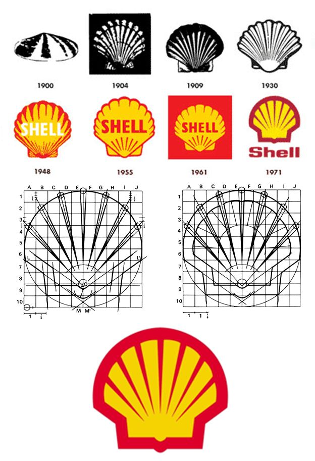 Grid Shell Oil Logo