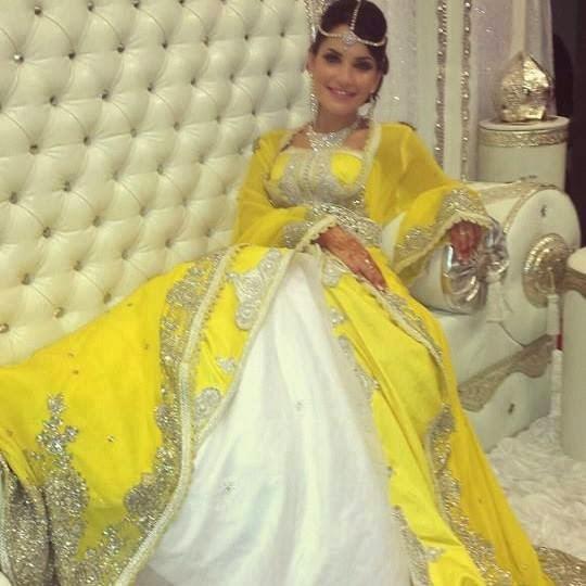 caftan mariage sari 2016