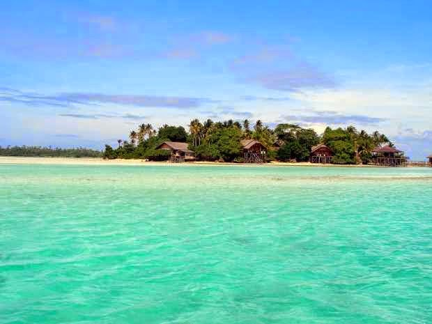 Pulau liwutongkidi - tempat wisata alam di sulawesi tenggara