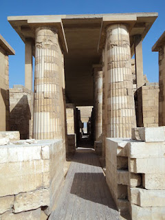 Pátio de Heb-sed Saqqara