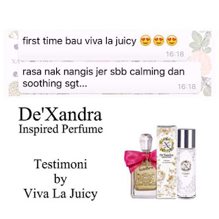 Testimoni DEXANDRA,Perfume Dexandra
