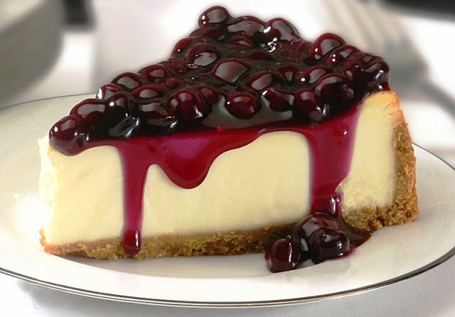 Resep Blueberry Cheesecake