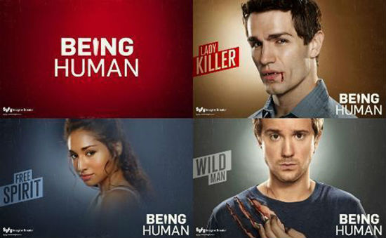 Beign Human US wallpaper