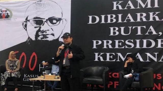 Novel: Ada Rumah Pegawai KPK yang Dipasangi Bom